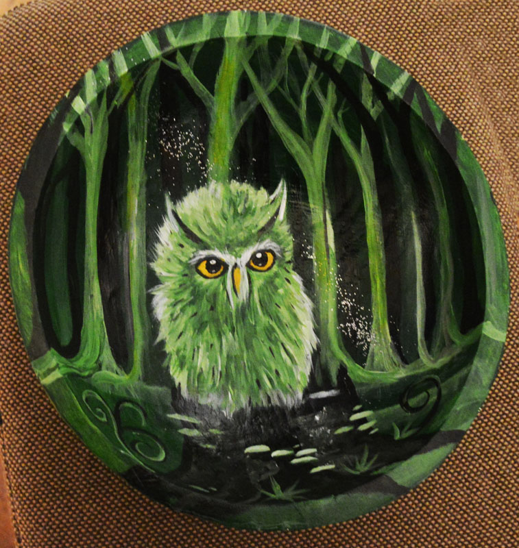 Manuela Jürgens #07 Little Green Owl